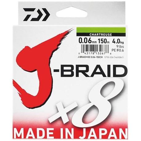 Tresse JBraid 8 brins