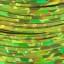 Tinsel Holographique 0.8 mm  (30 m) : Couleur:Chartreuse