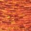 Tinsel Holographique 0.8 mm  (30 m) : Couleur:Orange