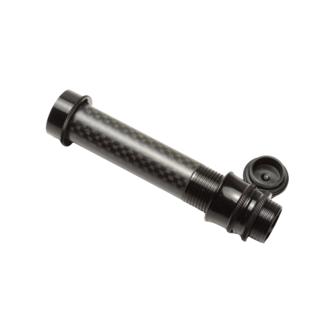 Porte moulinet noir insert carbone SKELETON (26,7 g)