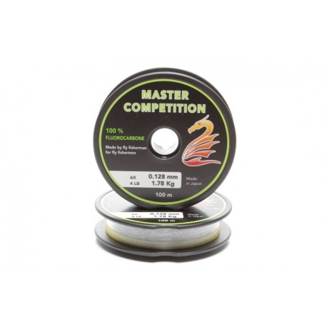 Fil fluorocarbone MASTER COMPETITION (100 m)