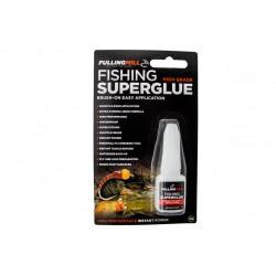 Super glue avec pinceau applicateur