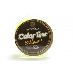Nylon Pezon & Michel Eaux vives Color Line Jaune fluo (150 m)